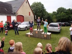 Flot 3. plads til Simon Kjeldsen, flot med en brækket finger