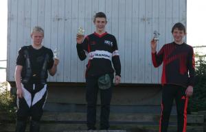 Frederik K tog en flot 3 plads i expert 15 år (som 13 årig)
