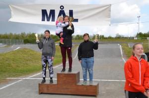 Michelle Sørensen endte som samlet vinder i Ladies Cruiser klassen for weekenden