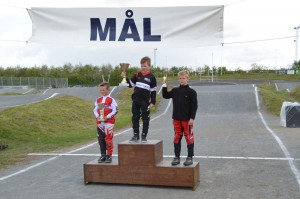 Mads Hjortflod havde et uheldigt finale heat søndag, og måtte se sig henvist til 3. pladsen.