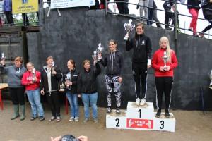 Michelle Sørensen vinder LP 2015 selv om hun ikke kunne deltage i de sidste to afd. pga. en brækket arm.